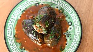Stuffed Eggplant with Chef Nof Atamna-Ismaeel