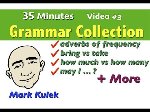 Basic English Grammar - video collection #3 | English for Communication - ESL