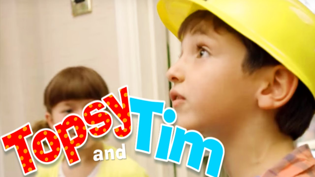 topsy tim 204 busy builders topsy and tim full. Black Bedroom Furniture Sets. Home Design Ideas