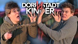 KINDER VOM DORF vs. KINDER AUS DER STADT | Joey's Jungle