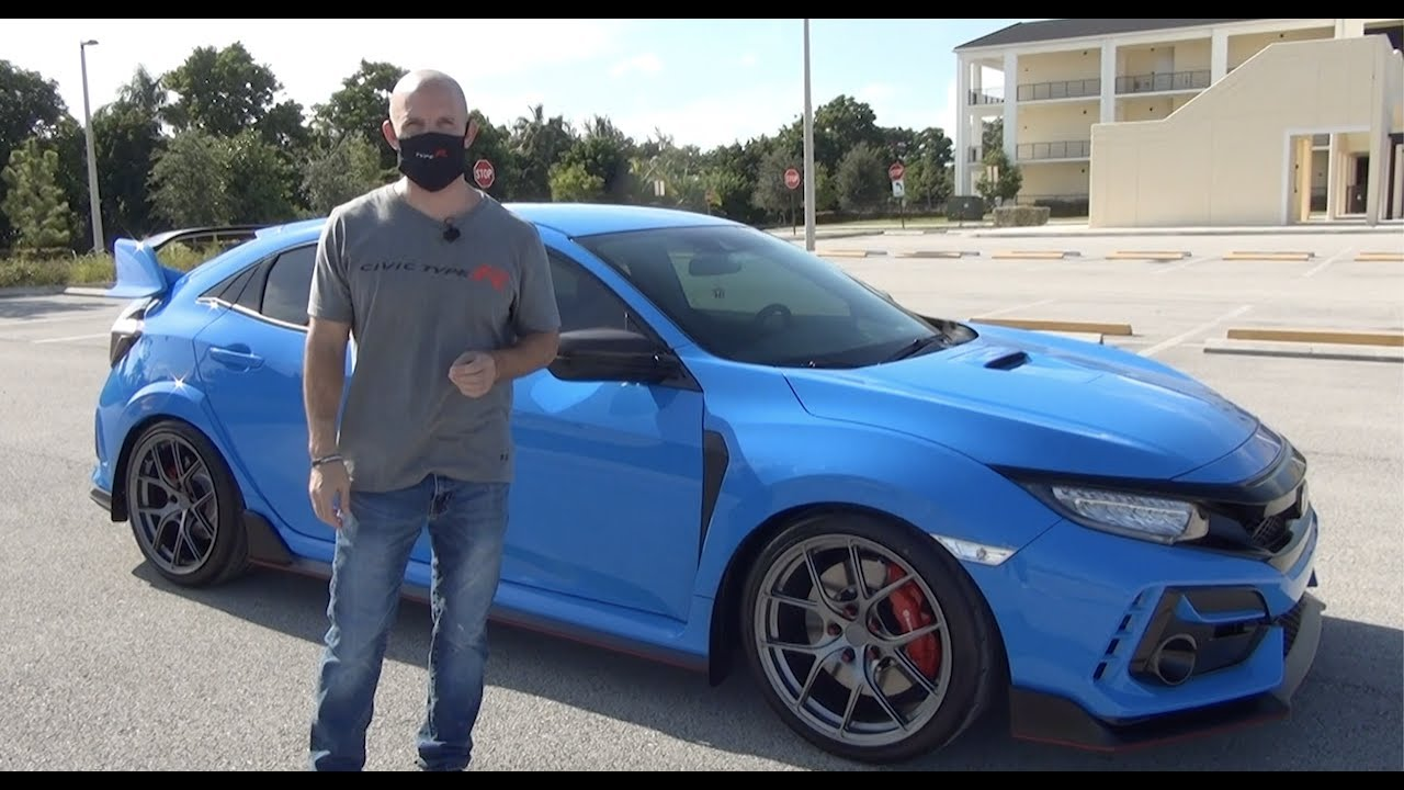 2020 Honda Civic Type R World S 1st Look In Boost Blue Youtube