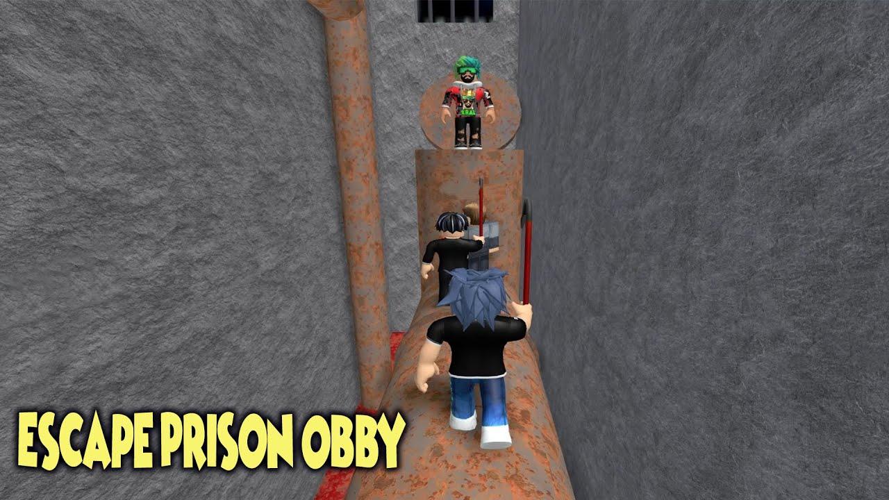HAN KANAL HAPİSHANEDE GİZLİ GEÇİT BULDU !!! | Son Bölüm | [NEW] Escape Prison Obby! | Roblox Türkçe