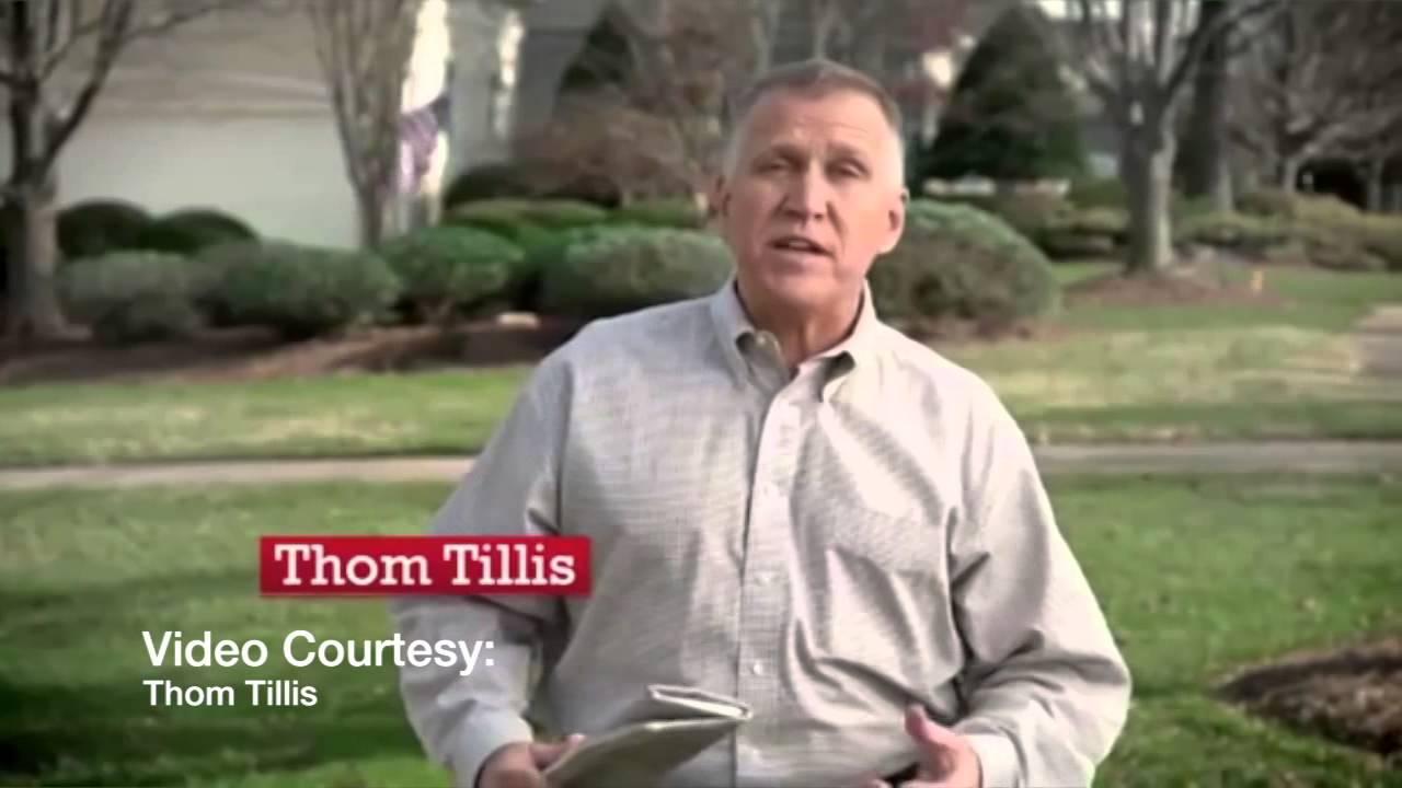 Senator Thom Tillis Says He Is 'Fine' After Collapsing
