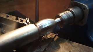Simple Radius Cutting on the Lathe