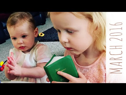 BABY GIRL reads the BIBLE
