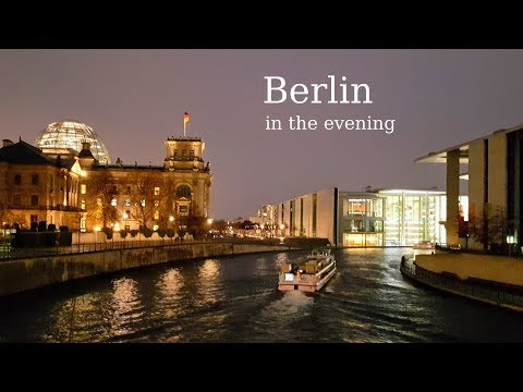 Berlin. Attractions and interesting places in the center of the city. (Brandenburg, Germany)