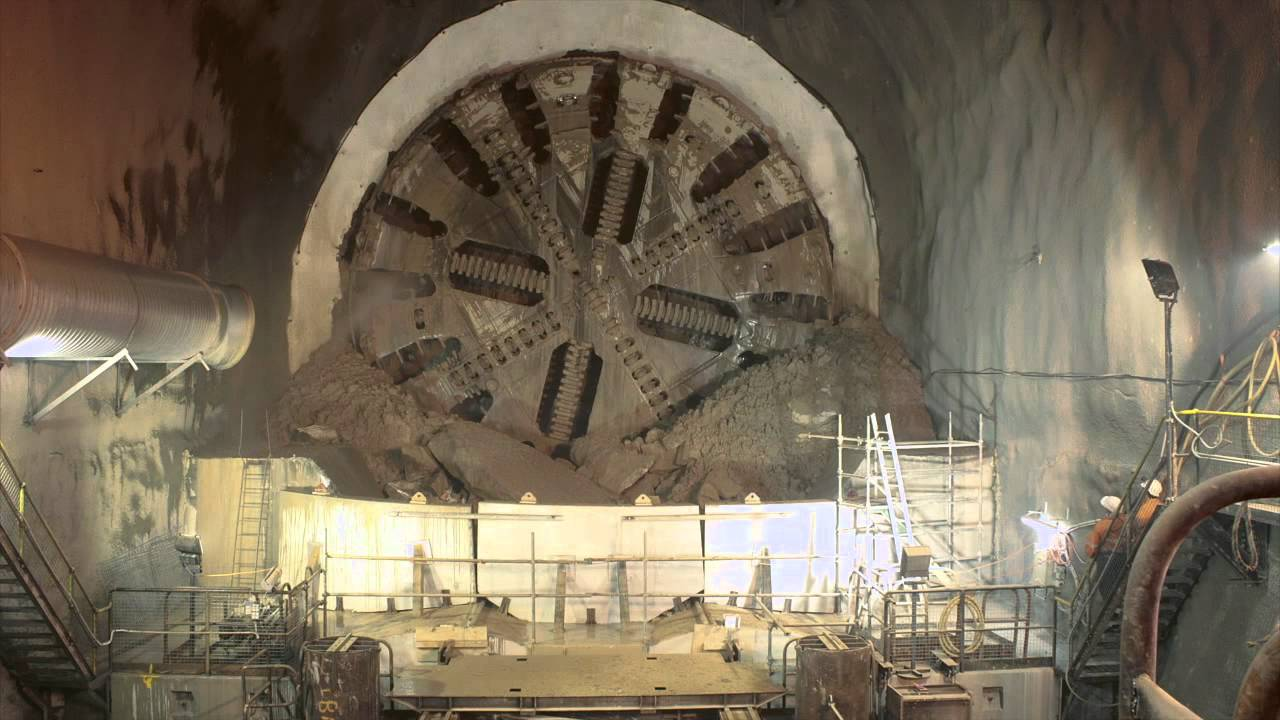 Tunnel Boring Machine Time Lapse Burial Youtube