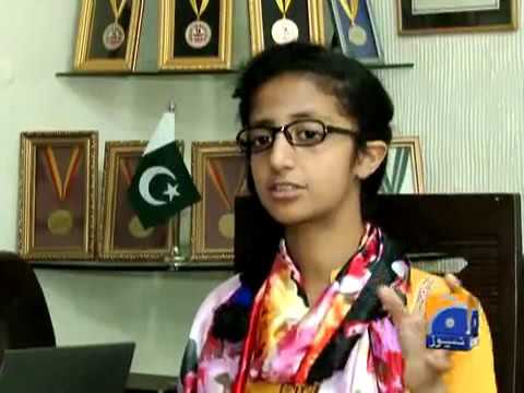 Pakistani wonder girl Roma world's youngest Certified Ethical Hacker.