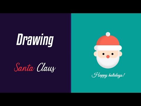 How To Draw Santa | HTML & CSS | Winter Series