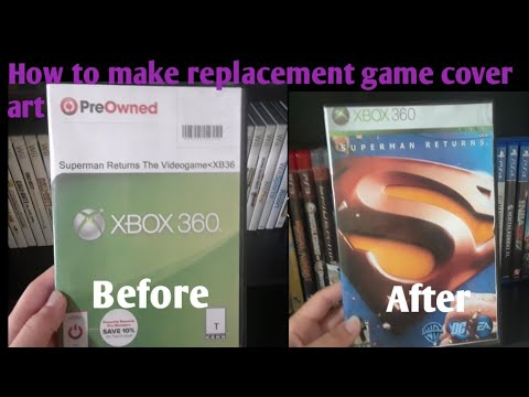 How To Make Replacement Game Cover Art