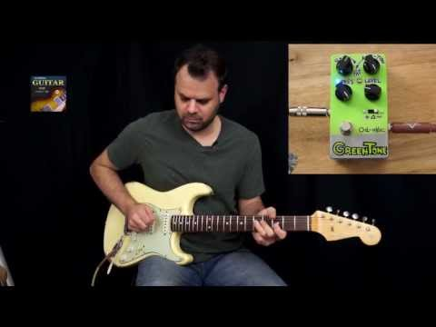 VL Effects Od-One Greentone TS 808 Style Pedal Demo