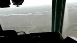 tu-154 visual landing tolmachevo novosibirsk cockpit video thumbnail