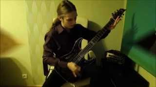 Children of Bodom - Downfall guitar cover