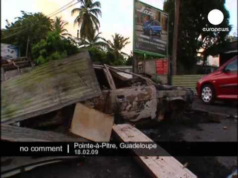 Guadeloupe damage