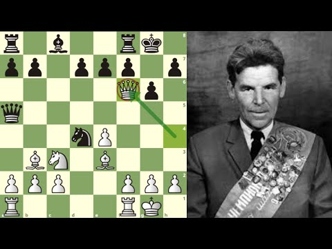 ¡SACRIFICA LA DAMA!: Nezhmetdinov vs Chernikov (Rostov, 1962)