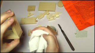 37. Wooden Model Kit - SOUNDsculptures (ASMR)
