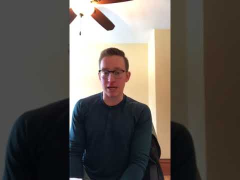 John Christensen's Post-Contract Interview Video