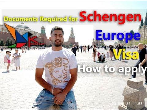 Documents Required For Schengen Visa - How To Apply Visa.