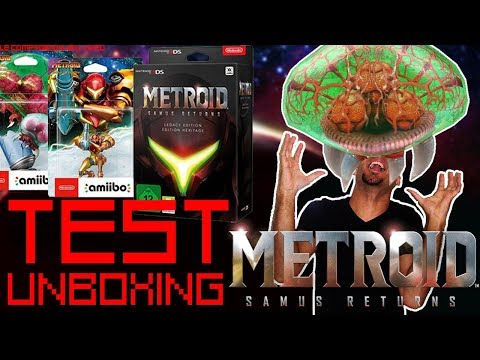 Test Metroid Samus Returns + Unboxing collector + concours