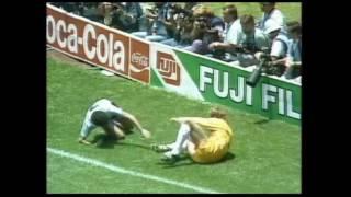 1986 Finale Argentinien vs Deutschland