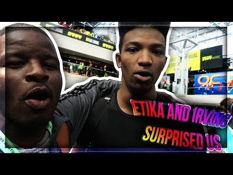 [DAY 2/2] ETIKA & IRVING SURPRISED VISITED US *NYC COMIC CON DAY 2*