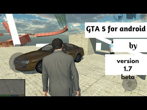 Gta 5 for Android || 1.7 Beta by unity || Los Angeles Crime ||  by Vikzz Tech