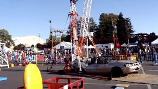Mousetrap:  Giant Rube Goldberg car smashing fun