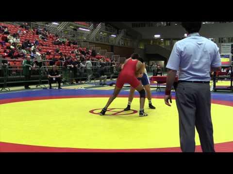2014 Junior National Championships: 84 kg Pavanvir Dulai vs. Jacob Luczak