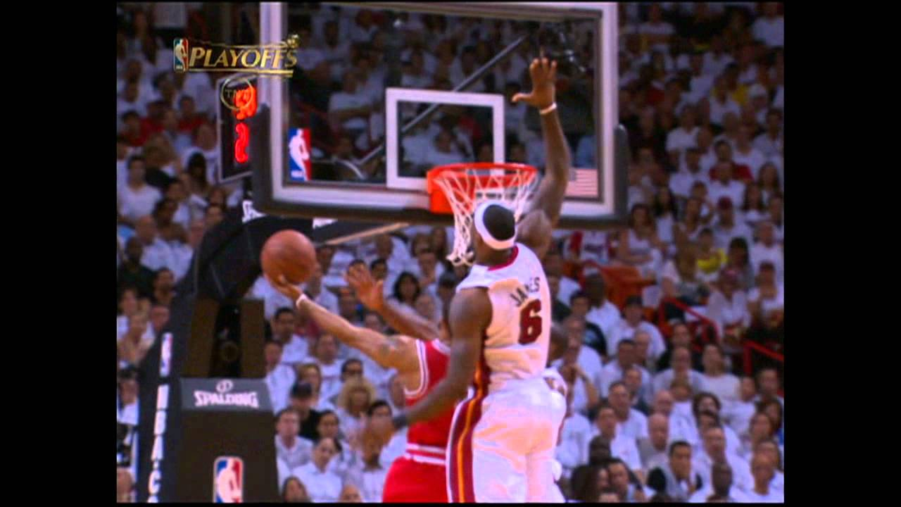 e9cae652cc2 LeBron James Skies to Deny Derrick Rose - YouTube