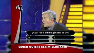 ¿Quién quiere ser millonario? - Ángel Llácer desata su ira contra Carlos Sobera - Homo Zapping