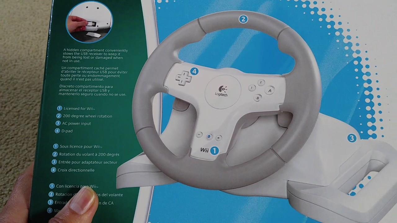 8e7e764b2be Wii Logitech Speed Force Wireless Force Feedback Racing Wheel Need For Speed  Undercover 2017