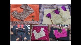 ನನ್ನ ಸೀರೆ ಹಾಗು ಬ್ಲೌಸ್ ಹೇಗೆ  ಡಿಸೈನ್ ಮಾಡಿದ್ದೀನಿ ನೋಡಿ HOW I DESIGNED MY SAREES/ Srirampura Part 3