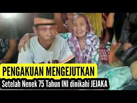 Tak Disangka !! ISI Hati Nenek 75 tahun setelah dinikahi Jejaka, Sungguh Memalukan