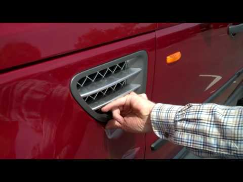 How To Remove Side Vent On A Range Rover Sport