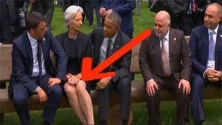 إضحك مع أفضل المواقف المضحكة و المحرجة لرؤساء دول العالم.. نسوا أنهم رؤساء !!