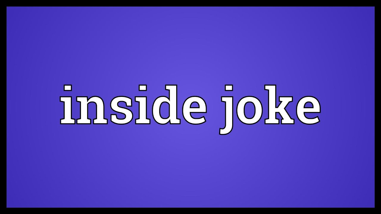 What is a joke History and meaning of the word 53