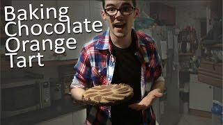 Baking Chocolate Orange Tart | Wyn Hopkins