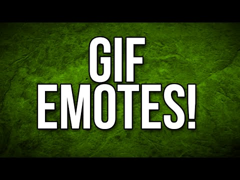 GIF EMOTES! And more new BTTV Features - BTTV Update! - YouTube