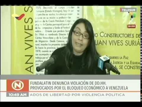 ONG venezolana Fundalatin denuncia muerte de niños en Venezuela por el bloqueo