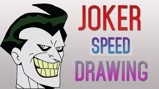 JOKER Speed Drawing | First Drawing Easy & New