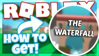 How to get the WATERFALL BADGE | Roblox Case Clicker
