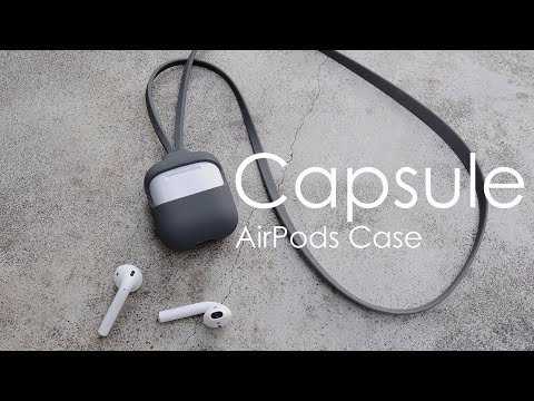 【LeadTrend】Capsule - AirPods Case with Strap set|AirPods 保護套組