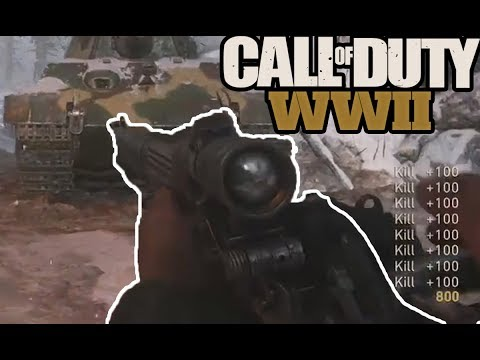 WORLD RECORD SNIPER FEED! Call of Duty WW2: Top Plays of the WEEK #3 (COD WW2)