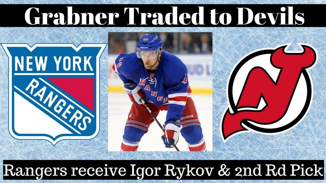 reputable site b5ddc 328fd NHL Trade Talk - Rangers Trade Grabner to Devils