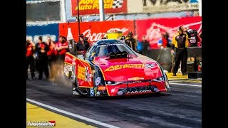 CPTV NEWS - COURTNEY, SCHUMACHER, KRAMER TOP NHRA ARIZONA NATS QUALIFYING