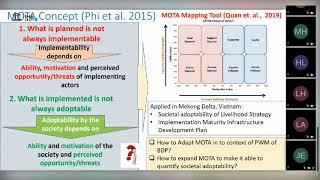 IHE Delft 💧 Motivation and Ability Framework Webinar Series -  MOTA Applications
