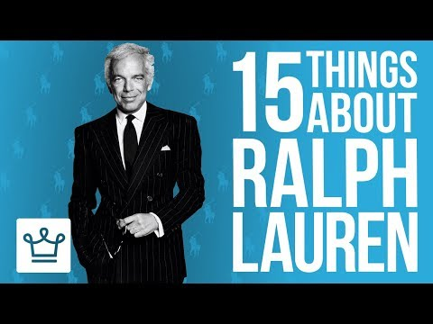 15 Things You Didn't Know About Ralph Lauren