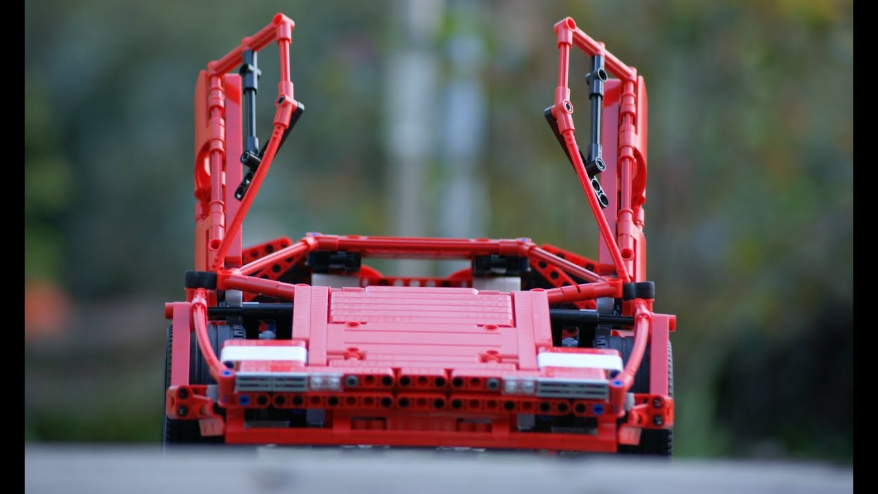Lego Technic Lamborghini Countach 5000s Youtube