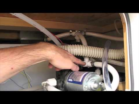 RV Freshwater Pump Boondocking Modification