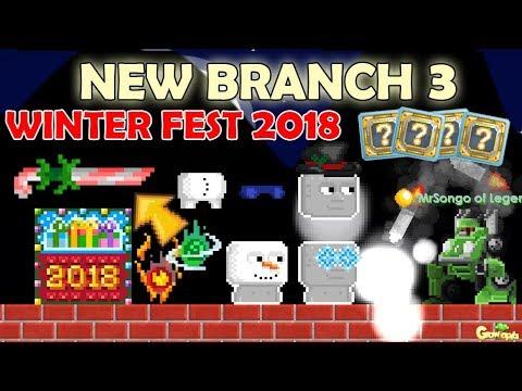 BRANCH 3 + GROWFORMER (IOTM) + 2018 CALENDAR!! OMG!! | GrowTopia